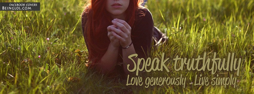 Live Simply Facebook Cover