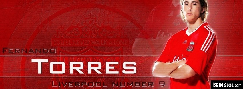 Liver Pool Fernando Torres Facebook Cover