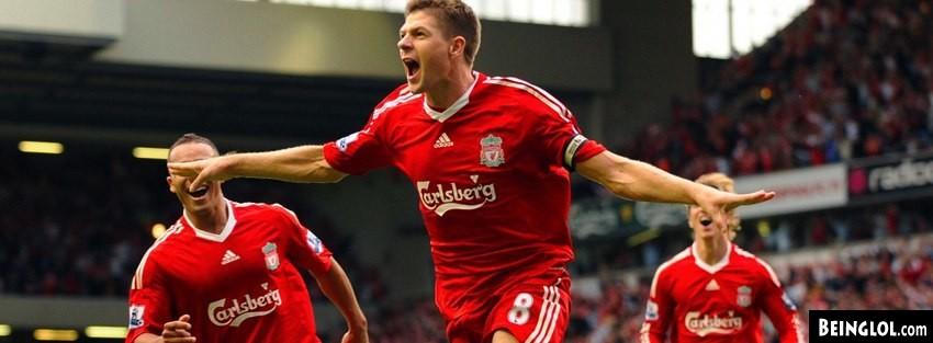 Liverpool Steven Gerrard Cover