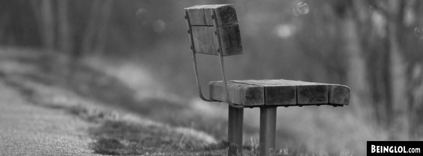 Lonely Bench Facebook Cover