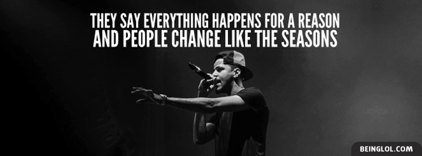 Lost Ones By J Cole Lyrics Facebook Cover
