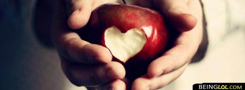 Love Apple Facebook Cover