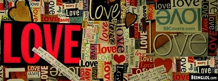 Love Collage Facebook Covers Cover