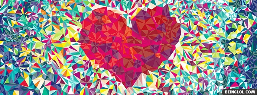 Love Heat Heart Facebook Cover