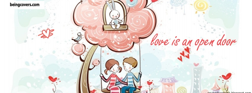 Love Is Open Door Facebook Cover