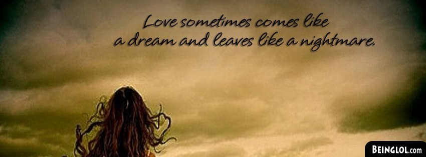 Love Nightmare Facebook Cover