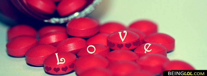 Love Red Candies Facebook Cover