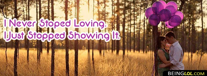 love saying facebook cover Cover