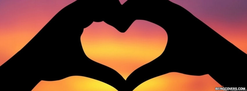 Love Silhouette Facebook Cover