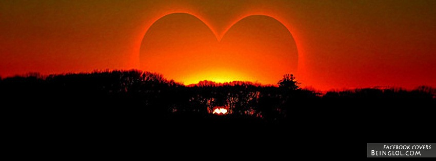 Love Sunset Facebook Cover