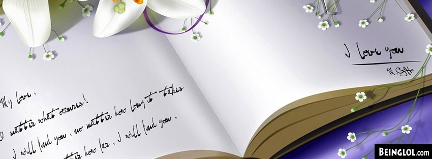 Love You Book Facebook Cover