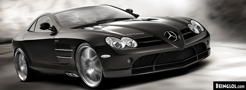 MB SLR Brabus Facebook Cover