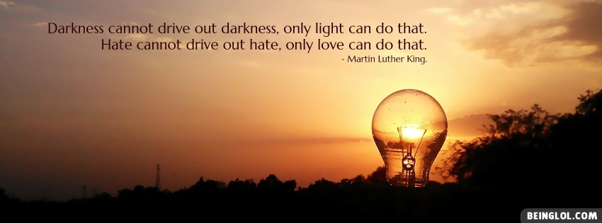 Martin Luther King Quote Facebook Cover