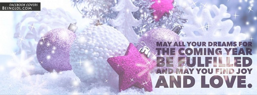 May You Find Joy And Love Facebook Cover