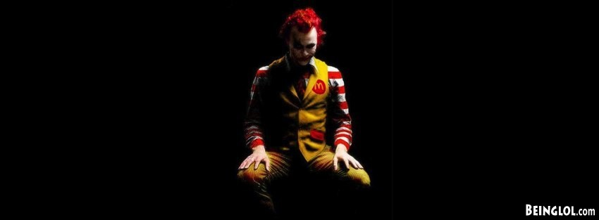 Mcdonald Joker Facebook Cover
