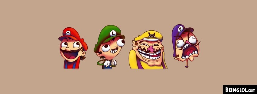 Meme Mario Facebook Cover