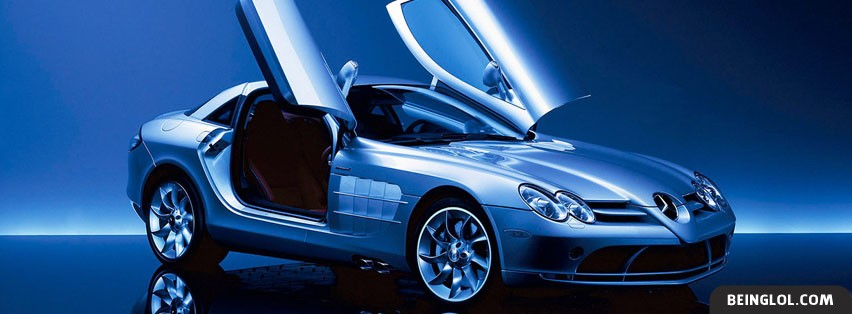 Mercedes Lambo Doors Facebook Cover