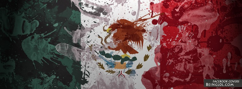 Mexico Flag Cover