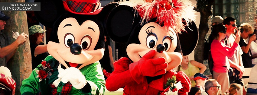 Mickey And Minnie Facebook Cover