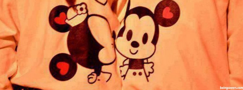 Mickey Mini Love Facebook Cover