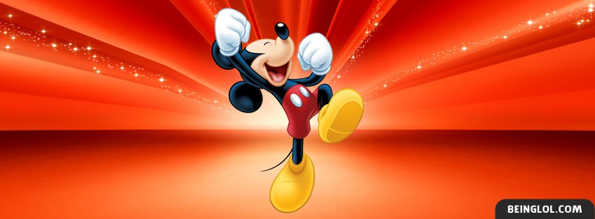Mickey Mouse 2 Facebook Cover