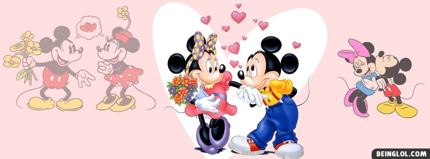 Mickey Mouse And Minnie Mouse Facebook Cover