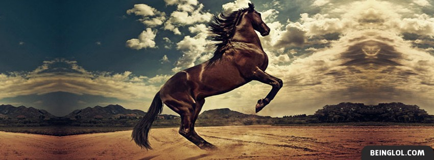 Mighty Horse Facebook Cover