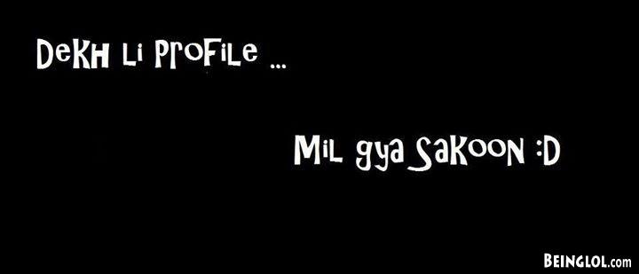 Mil Gaya Sakoon :D Facebook Cover