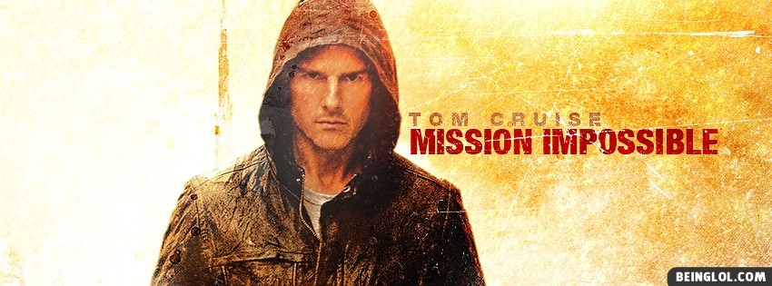 Mission Impossible Facebook Cover