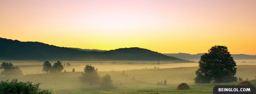 Misty Dawn Facebook Cover