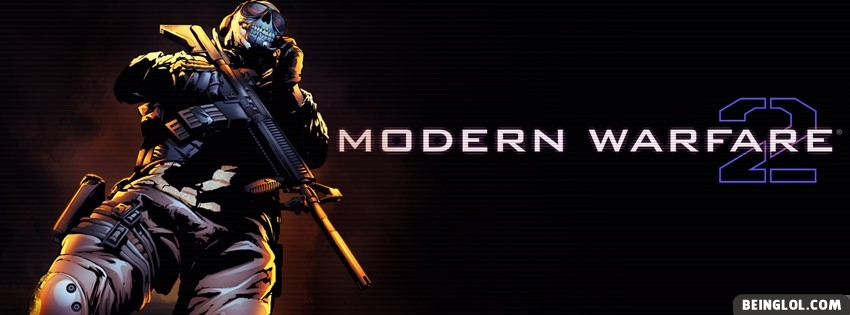 Modern Warfare 2 Facebook Cover