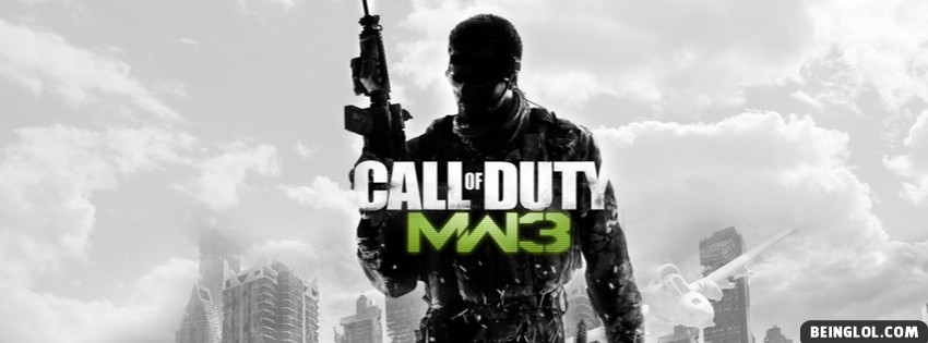 Modern Warfare 3 Facebook Cover