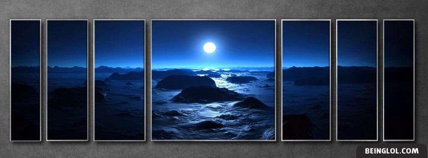 Moon Panels Facebook Cover