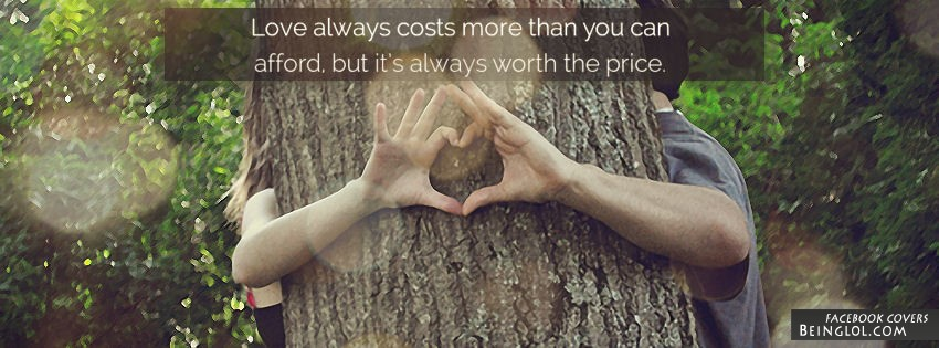 More Than You Can Afford Facebook Cover