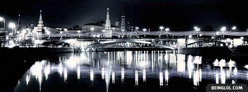 Moscow Night Facebook Cover