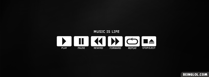Music Playlist Facebook Cover