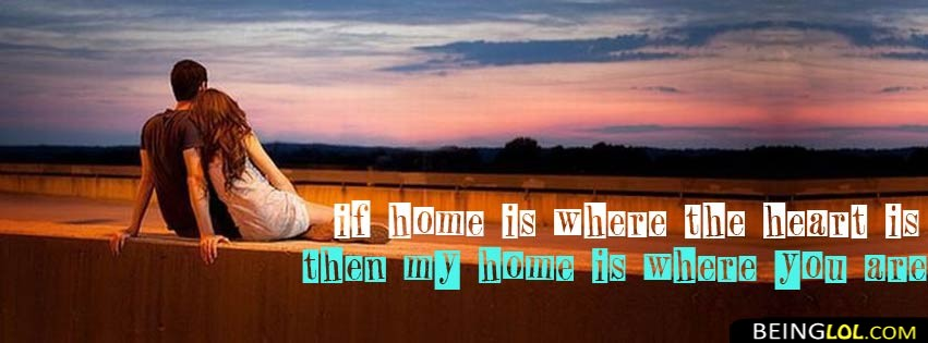 My Home Is Where You Are Facebook Cover