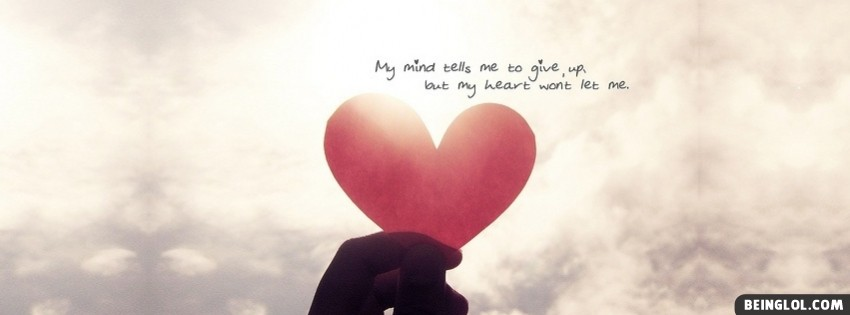 My Mind And My Heart Facebook Cover