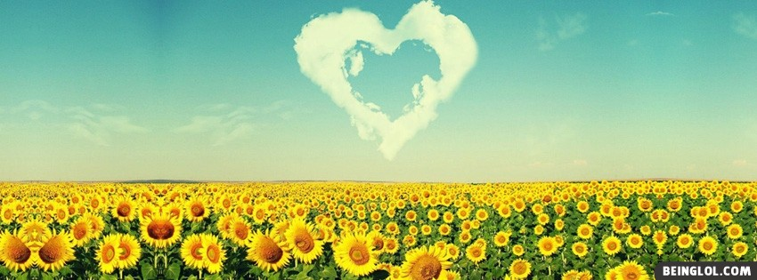 Nature Heart Facebook Cover