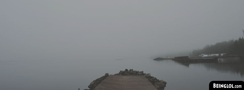 Nature Lake Dock Facebook Cover
