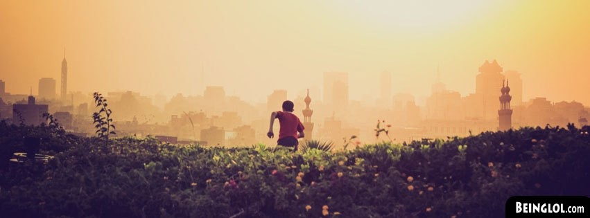 Nature Meets Cityscape Facebook Cover
