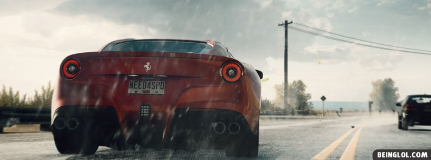 Need For Speed Rivals Facebook Cover