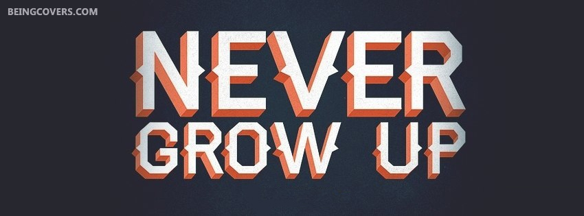 Never Grow Up Cover