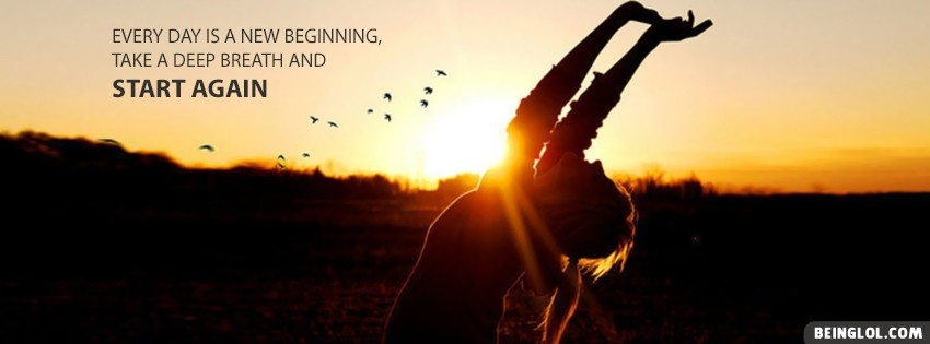 New Beginning Facebook Cover