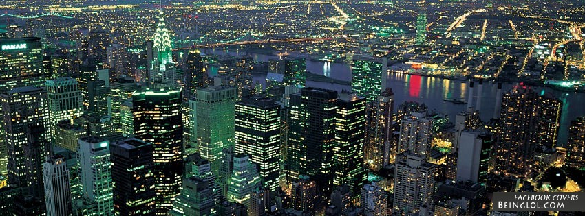 New York City Night Facebook Cover