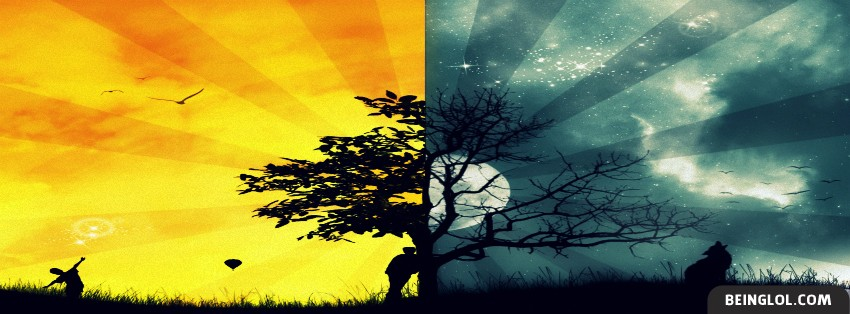 Night And Day Facebook Cover