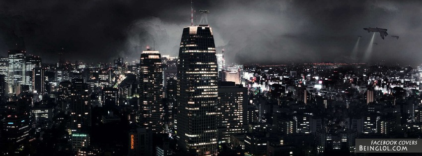 Night City Facebook Cover