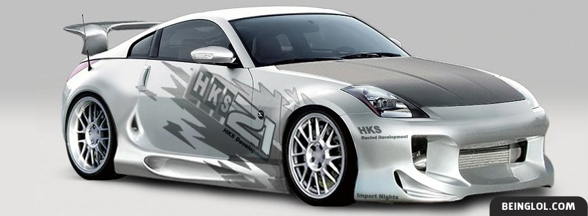 Nissan 350z Facebook Cover