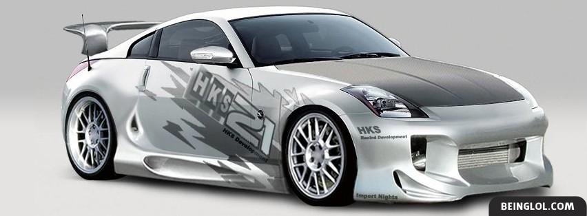 Nissan 350z Facebook Cover