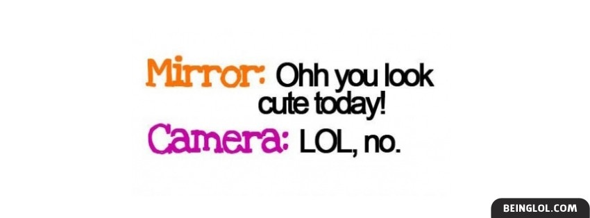 Ohh You Look Cute Today Facebook Cover